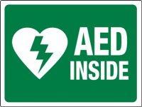 aed-sign